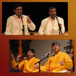 Confluence of streams of music- Carnatic and Hindustani Vocal duo