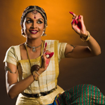 Bharatanatyam style Indian Classical Dance