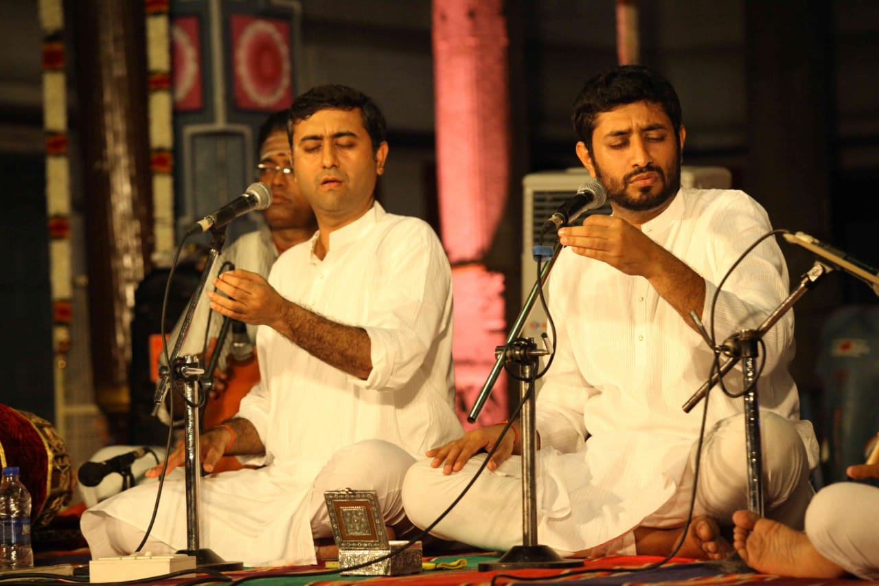 Carnatic Vocal Concert by Trichur Brothers
